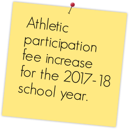 Athletic Fee Increase