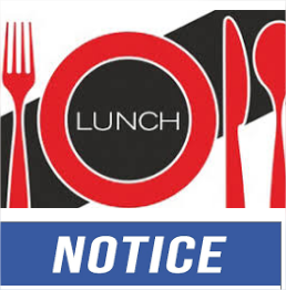 Lunch Notice