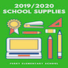 Ferry Elementary Recommended School Supplies for 2019-2020 School Year