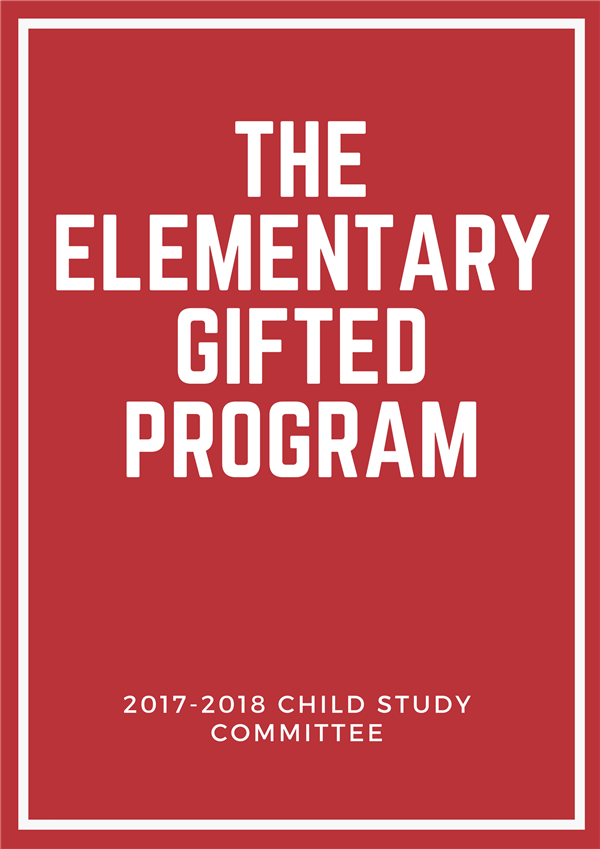 The Elementary Gifted Program