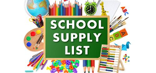 School Supplies 2018-19