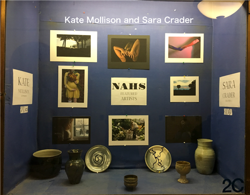 Kate Mollison and Sara Crader